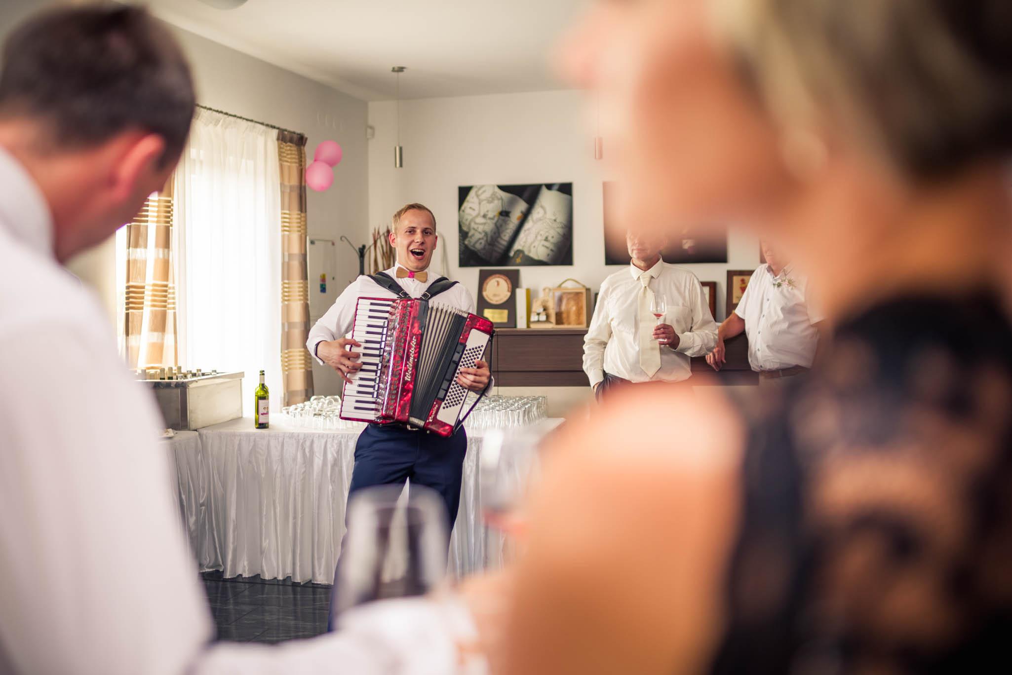 Harmonikář Marek Musil pro vaše oslavy.